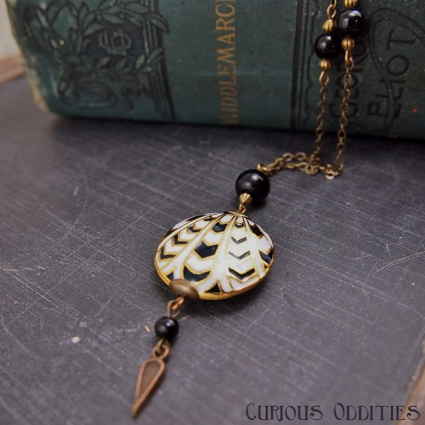 Curious Oddities Enamel Pendant Giveaway #1