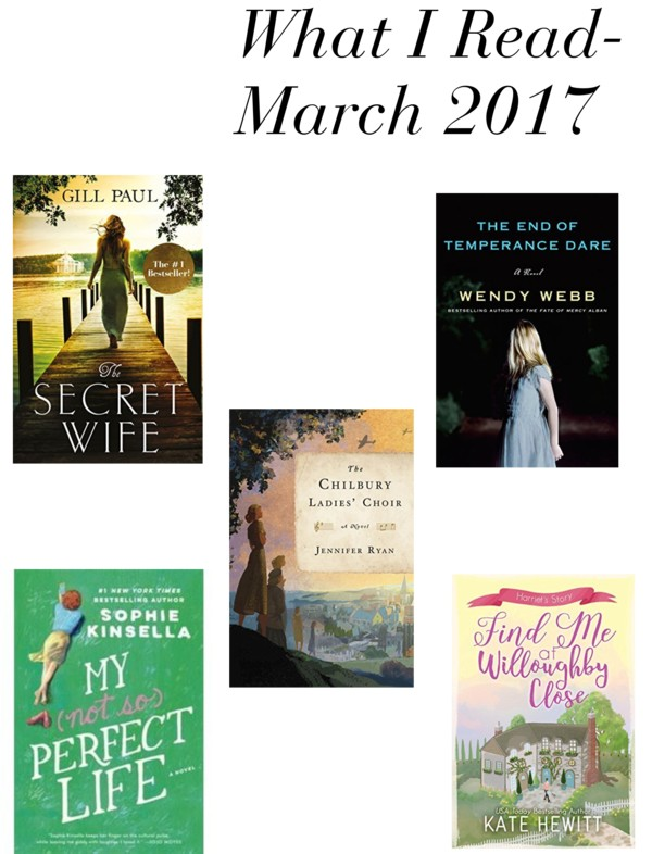 What I read in March 2017