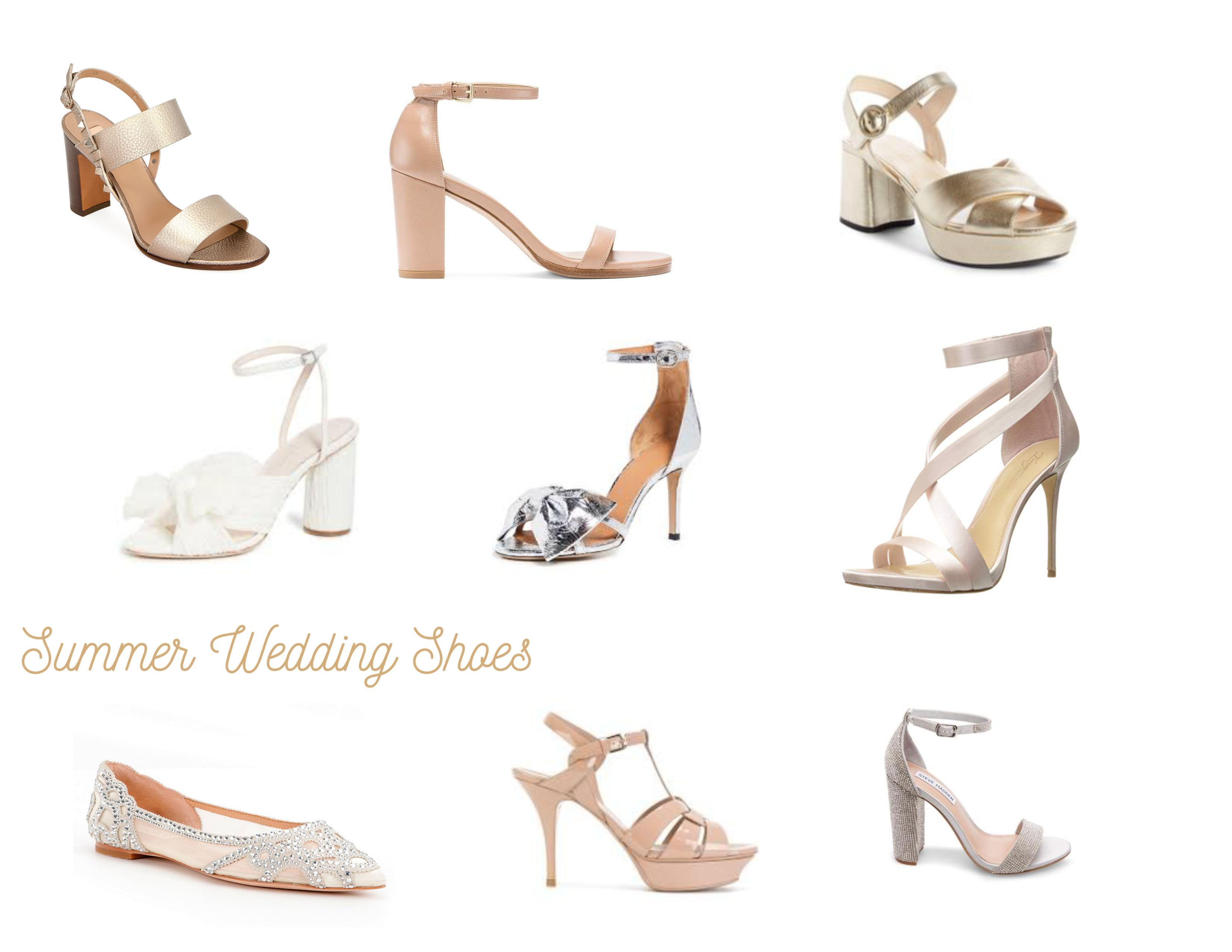 Summer Wedding Shoes Strolling The City In Heels